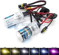 O-NEX 2x XENON HB3 9005 HID Bulbs AC 35W Headlight Replacement High Bright 6000K Crystal White