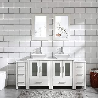 vanity bathroom double sink