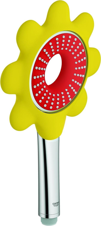 Grohe 26115DG0 Rainshower Icon 100 Flower Hand Shower - Red Yellow