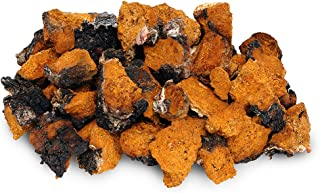 Chaga Small Chunks 4 oz Organic 240+ Servings Wild Harvested Canadian Chaga - Only The Best - Chaga Pure and Simple - Mushroom Tea - Includes Black Outer Crust