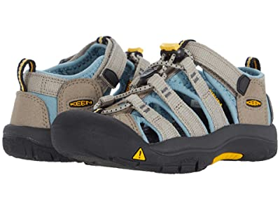 Keen Kids Newport H2 (Toddler/Little Kid) (Timberwolf/Smoke Blue) Kids Shoes
