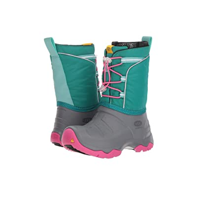Keen Kids Lumi Boot WP (Little Kid/Big Kid) (Parasailing/Dusty Aqua) Girls Shoes