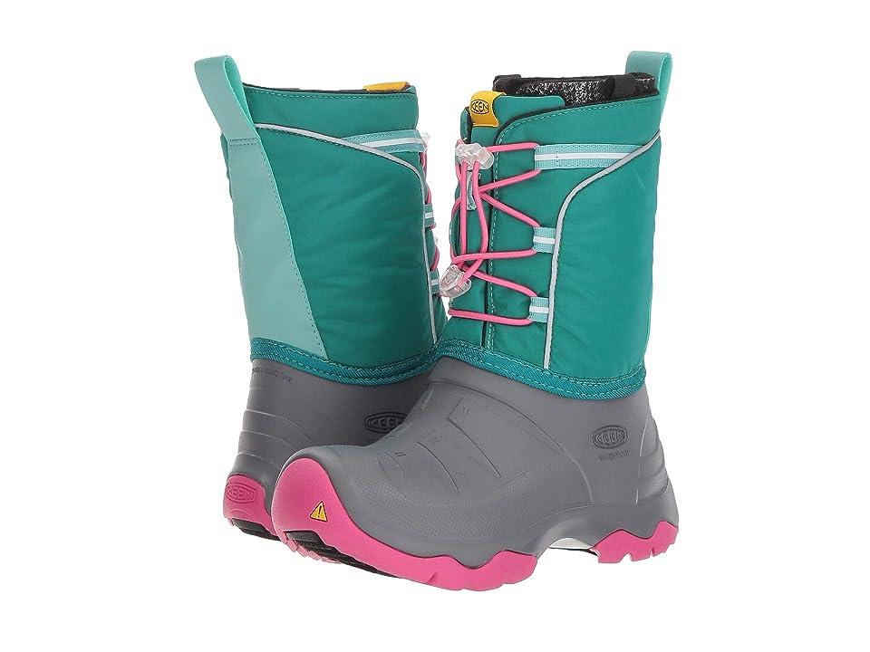 Keen Kids Lumi Boot WP (Little Kid/Big Kid) (Parasailing/Dusty Aqua) Girls Shoes