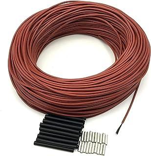 DZF697 1PC Low Cost Câble Chaud Sol Fibre de Carbone Chauffage Fil de Chauffage Tivelle électrique Nouveau câble Chauffage...