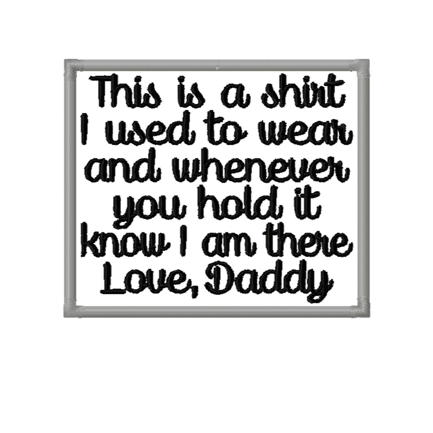 Memory Max 57% OFF Patch This is Wholesale a shirt I used on Love to o Daddy Iron wear