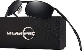 Sonnenbrille Herren Nachtsichtbrille Fahren Blendschutz Nachtfahrbrille Anti-Glanz Polarisiert Ultra Light Gewidmet Nachtbrille Auto Brille Night Vision im Retro