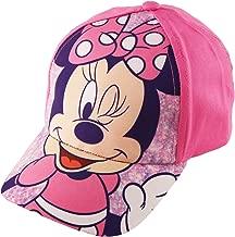 Disney Toddler Girls Minnie Mouse Bowtique Cotton Baseball Cap, Pink, Age 2-4