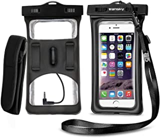waterproof phone bag with headphone jack