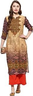 Kurtis Ethnic Women Kurta Kurti Tunic Digital Print Top Dress New Casual Wear