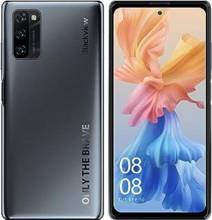 Blackview A100 Android 11 SIMフリースマホ本体 6+128GB スマートフォン Helio P70 6.67FHD+フルスクリーン2400x1080 12MP+8MPカメラ 携帯電話 4680mAh 指紋認証 顔認証...