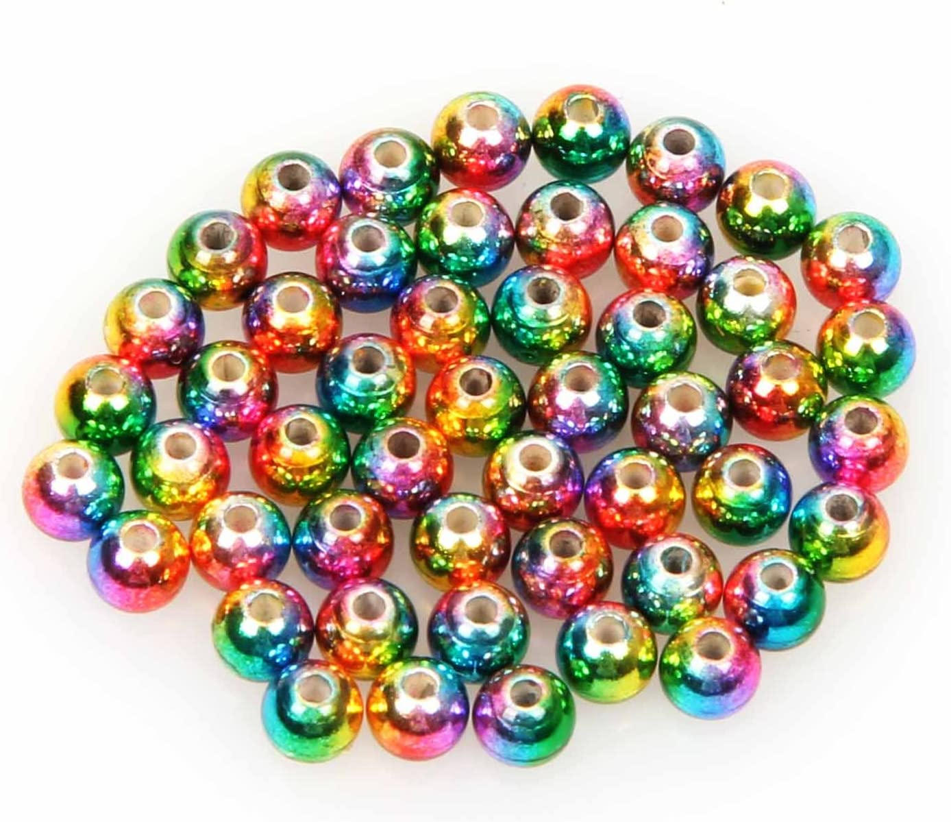 ANGLER DREAM Fly Tying Cash special price Beads 100 Dallas Mall Tungsten LOT Nymph PC Hea