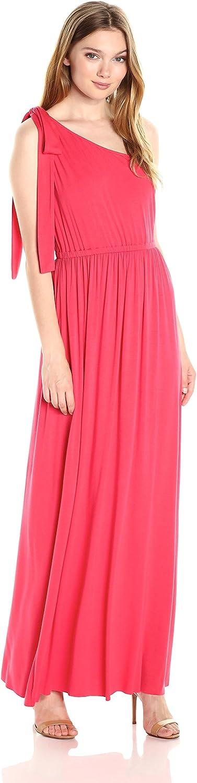 CLAYTON Womens Callista One Shoulder Maxi Dress Dress