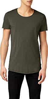 Jack & Jones Men's JJEBAS TEE SS U-NECK NOOS T-Shirt