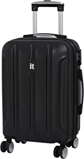 Proteus 21.5 Inch Hardside Carry-On Spinner (Black)