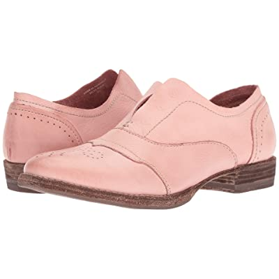 Blackstone Slip-On Cap Toe HL55 (Pink) Women
