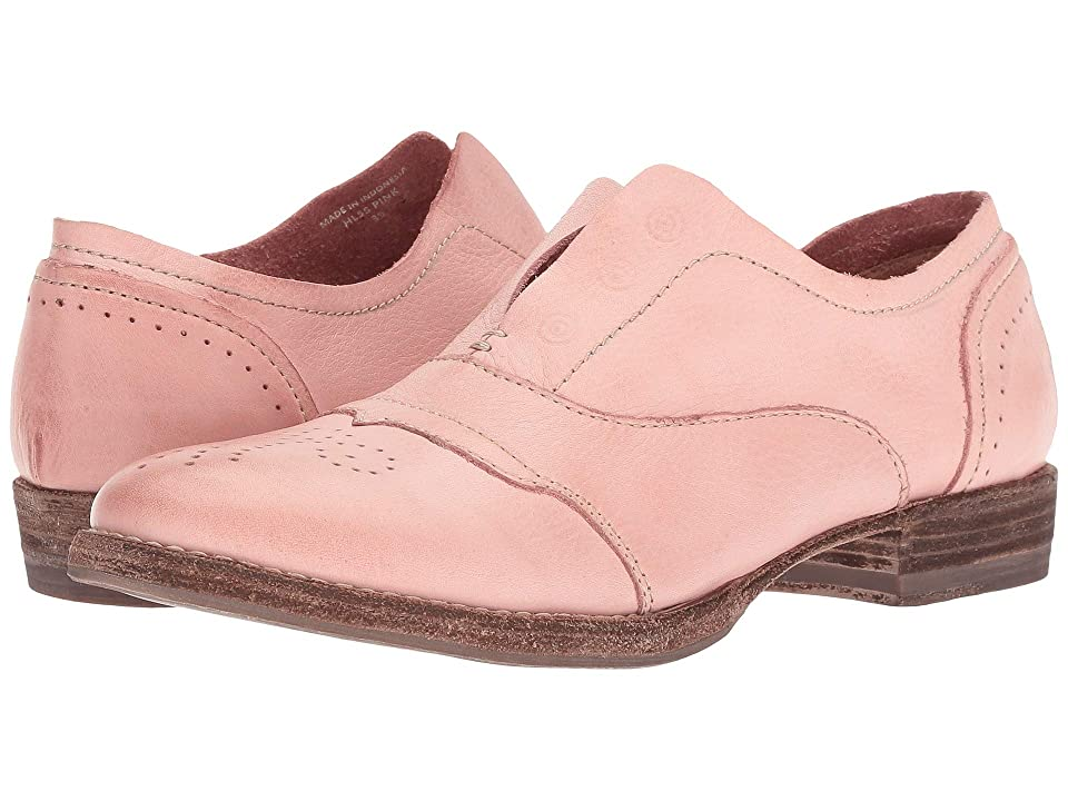 Blackstone Slip-On Cap Toe HL55 (Pink) Women