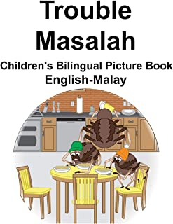 English-Malay Trouble/Masalah Children's Bilingual Picture Book