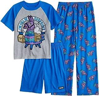 Boys Llama Surprise 3-Piece Pajama Set