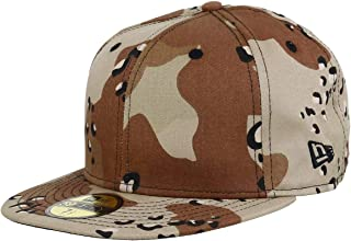 New Era Allover Desert Camo Blanc Blank 59fifty 5950 Fitted Cap Kappe Men