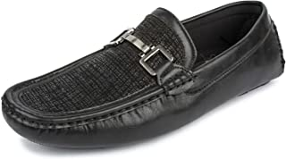 Spunk Men's Black Synthetic Loafers