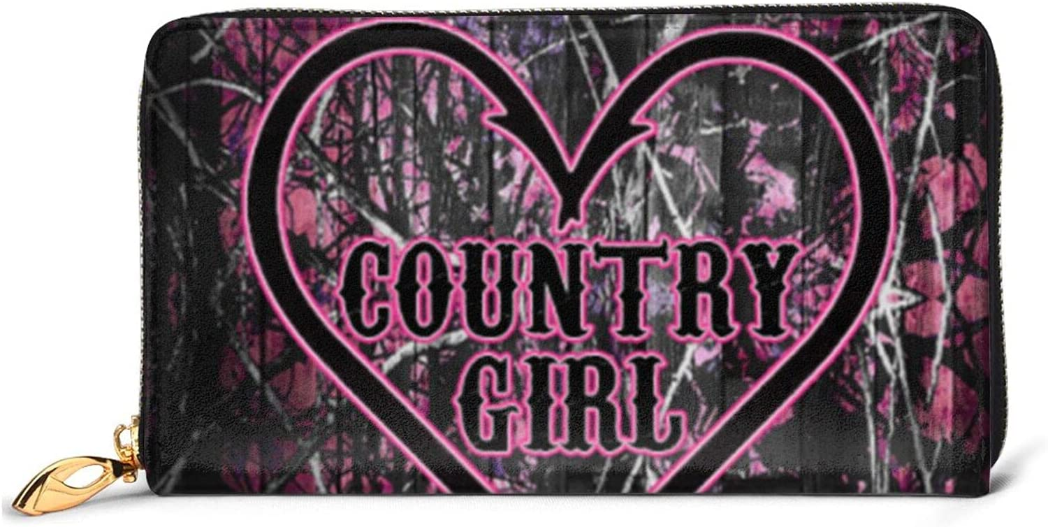 Mu-Ddy Girl Camo Wallets For Women Outlet SALE Zip Leather Boy Men Teen Shipping included