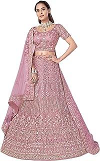 Dusty Indian New Arrival Net Gota & Zarkan Wedding Reception Lehenga Chaniya Choli Dupatta 6228