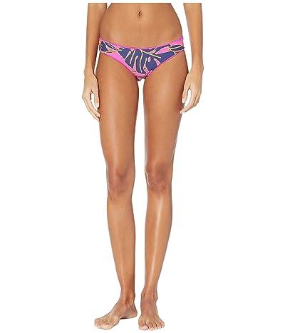 Maaji Sublime Reversible Signature Coverage Bikini Bottoms (Hibiscus Pink) Women