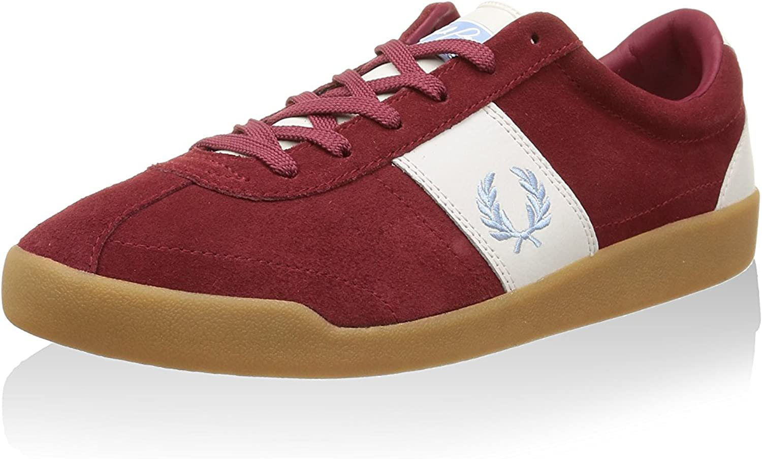 Fred Perry Stockport Suede Leather FP'82 Men's Trainers shoes B6263-106