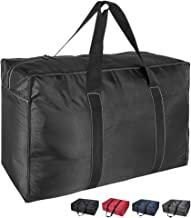 DOKEHOM 130L Thickened X-Large Storage Bag (4 Colors), Fabric Clothes Bag, Ultra Size Under Bed Storage, Moisture Proof (B...