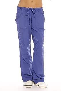 Womens Utility Solid Scrub Pants