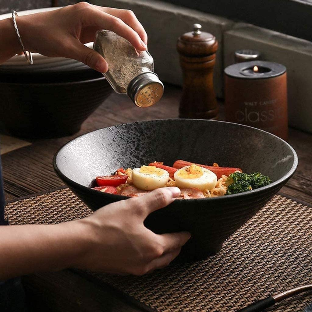 Creative Japanese Style 25% OFF Tableware Ceramic Bowl Ramen Inch Comm 9 shipfree