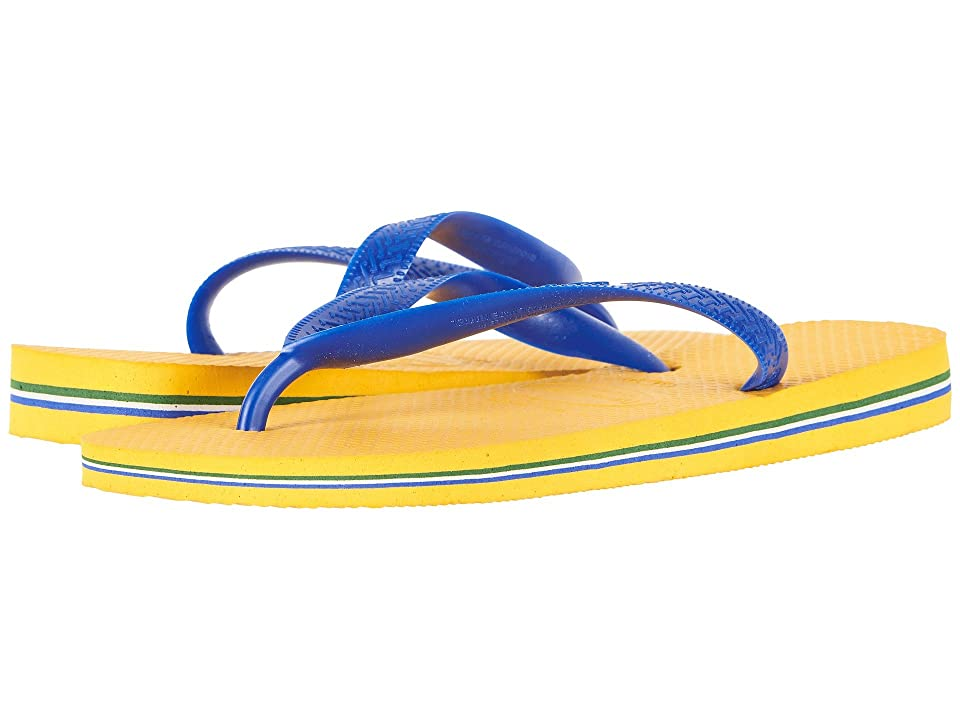 Havaianas Brazil Flip Flops (Banana Yellow) Women