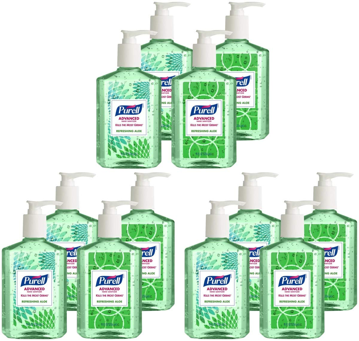 Max 50% OFF HIGJPWOXTN Portland Mall Advanced Hand Sanitizer Aloe Refreshing Serie Design