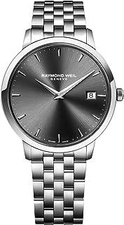 ساعة ريموند ويل للرجال 5588-ST-60001 توكاتا انالوج كوارتز فضية