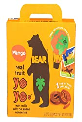 Bear Yoyo Fruit Roll Mango Multipack, 3.5 oz