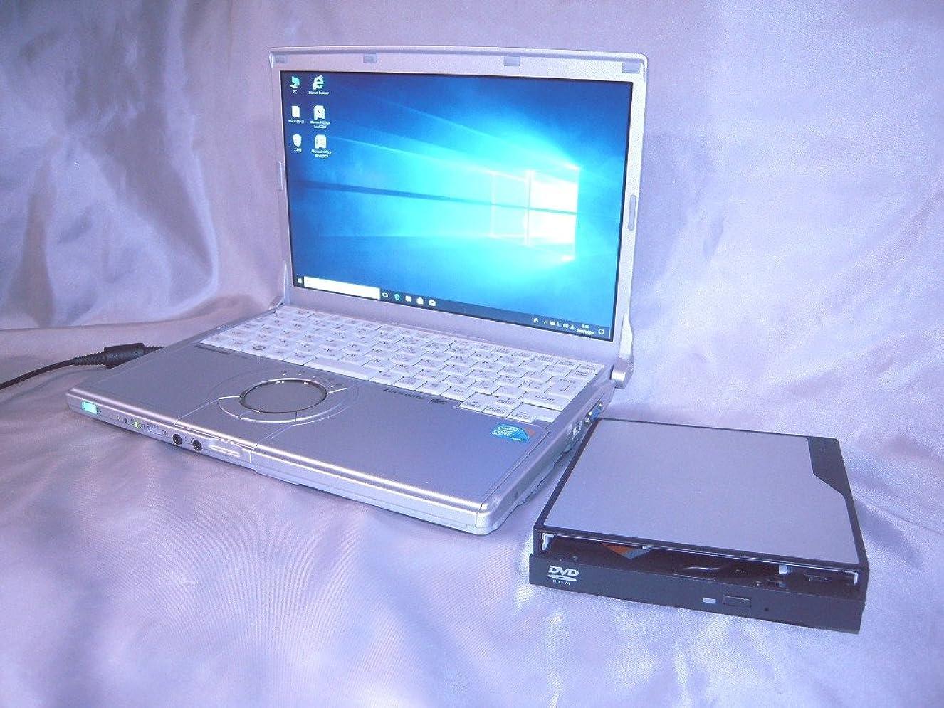 未知の奪う精査動作爆速 新品 SSD搭載 Windows10 Pro Core i5 無線LAN PanasonicノートPC 12.1型ワイド液晶 4GB/120GB 復元ソフト Microsoft office お買い上げ特典有