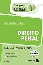 Sinopses - Direito Penal - dos Crimes Contra a Pessoa - Vol. 08 - 23ª Edição 2020