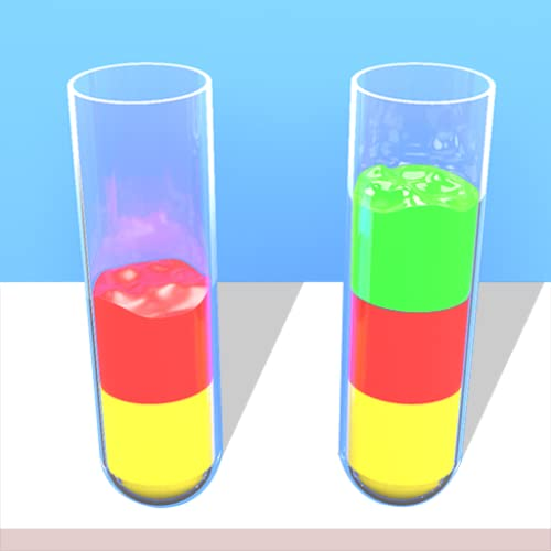 Water Sort Puzzle 3D - Color Pouring Game
