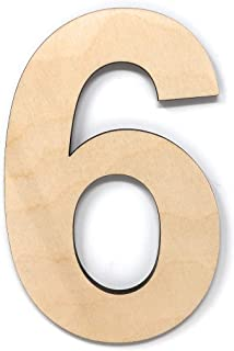 Best large wood numbers Reviews