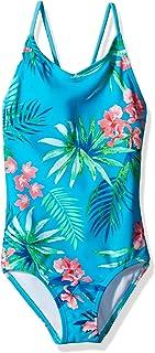 Kanu Surf Girl's Leonie Floral Beach Sport 1-Piece Swimsuit One Piece Swimsuit