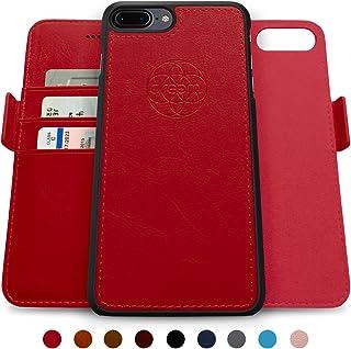 Dreem Fibonacci 2-in-1 Wallet-Case for iPhone 8-PLUS & 7-PLUS, Magnetic Detachable Shock-Proof TPU Slim-Case, Wireless Cha...