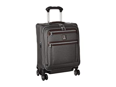 Travelpro Platinum(r) Elite International Expandable Carry-On Spinner (Vintage Grey) Luggage