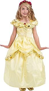 Little Adventures Yellow Beauty Princess Dress Up Costume