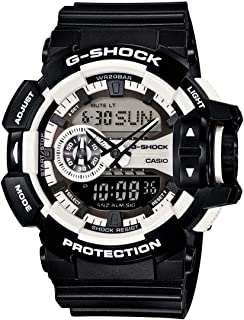 Casio G-Shock Black And White Big Case Ga400-1A Watch