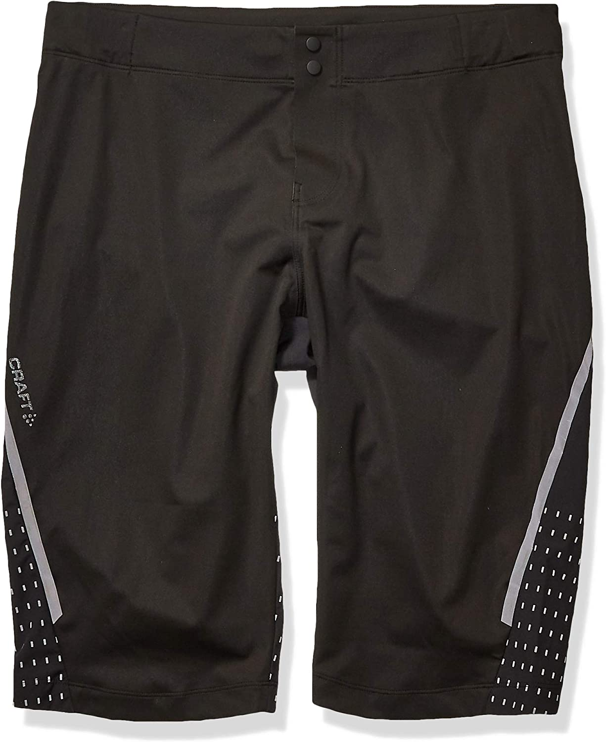 Craft Mens Hale Hydro Ergonomic Reflective Cycling Bike Shorts