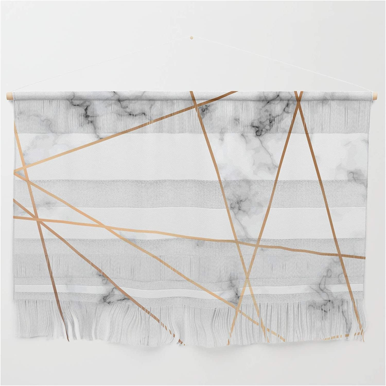 It is very popular Society6 Marble Sales Geometry 054 by Bluelela Wall - Hanging on Small