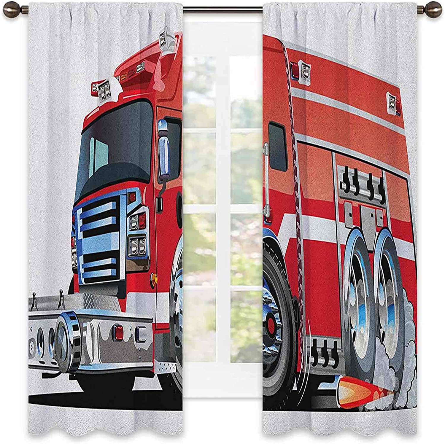Choice Cars Heat Insulation Curtain Big Fire Truck NEW before selling Emergency Equi with