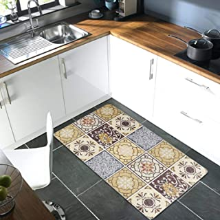 Amazon Com Brown Kitchen Rugs Kitchen Table Linens Home Kitchen
