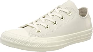Converse Womens Unisex CTAS Ox Fabric Low Top Lace Up Basketball Shoes