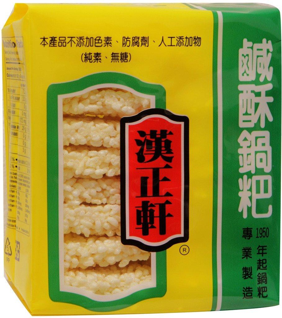 Ranking integrated 1st place 鹹酥鍋巴 Hanh trend rank Shyuan Rice Cracker Cake 7 x 3 Oz